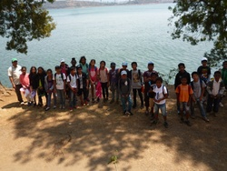 Visite de la station d'assainissement de l'eau de la ville d'Antsirabe