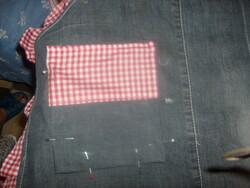 un tablier partir d'un vieux jeans