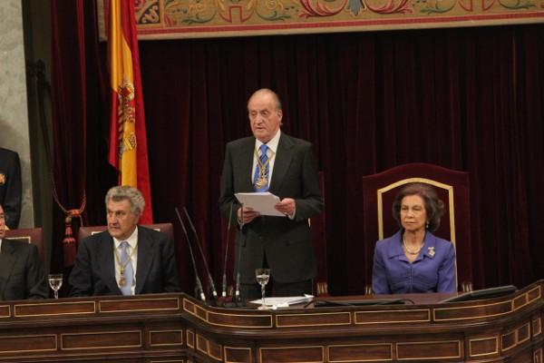 Ouverture du parlement espagnol