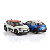 1:43 NOREV 155267 & 155268 Citroën C3 2016 (exemplaires de production)