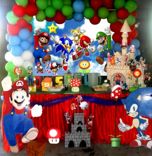 mario et sonic anniverfete. Black Bedroom Furniture Sets. Home Design Ideas