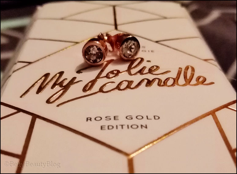 My Jolie Candle Rose Gold (code promo)
