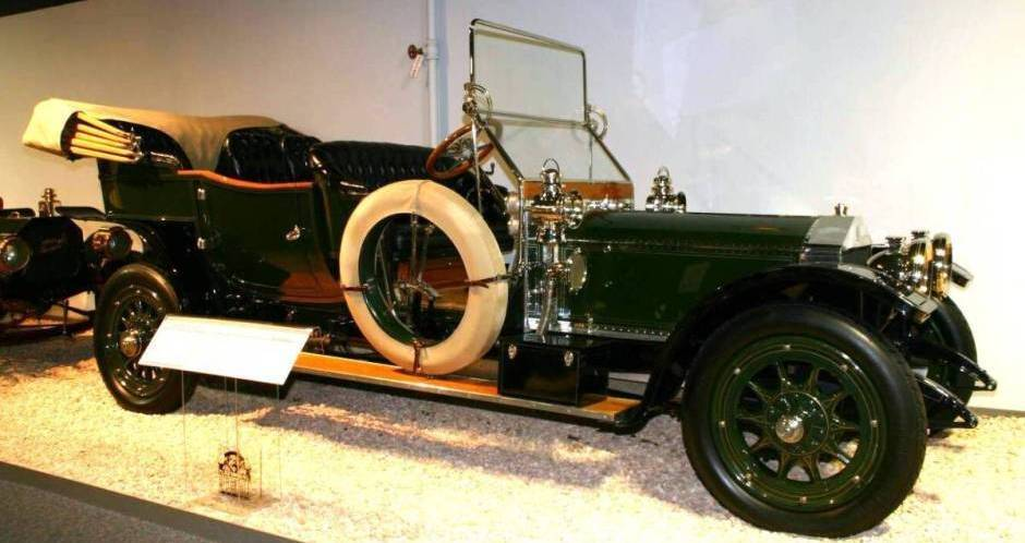 1910 Rolls-Royce Silver Ghost Alford & Alder Tourer
