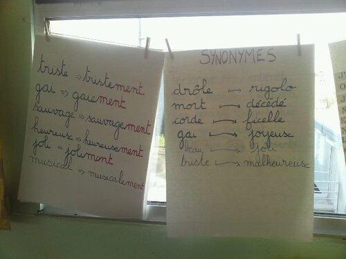 Des collectes comme en grammaire!