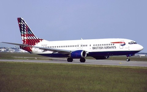 tartan british airways