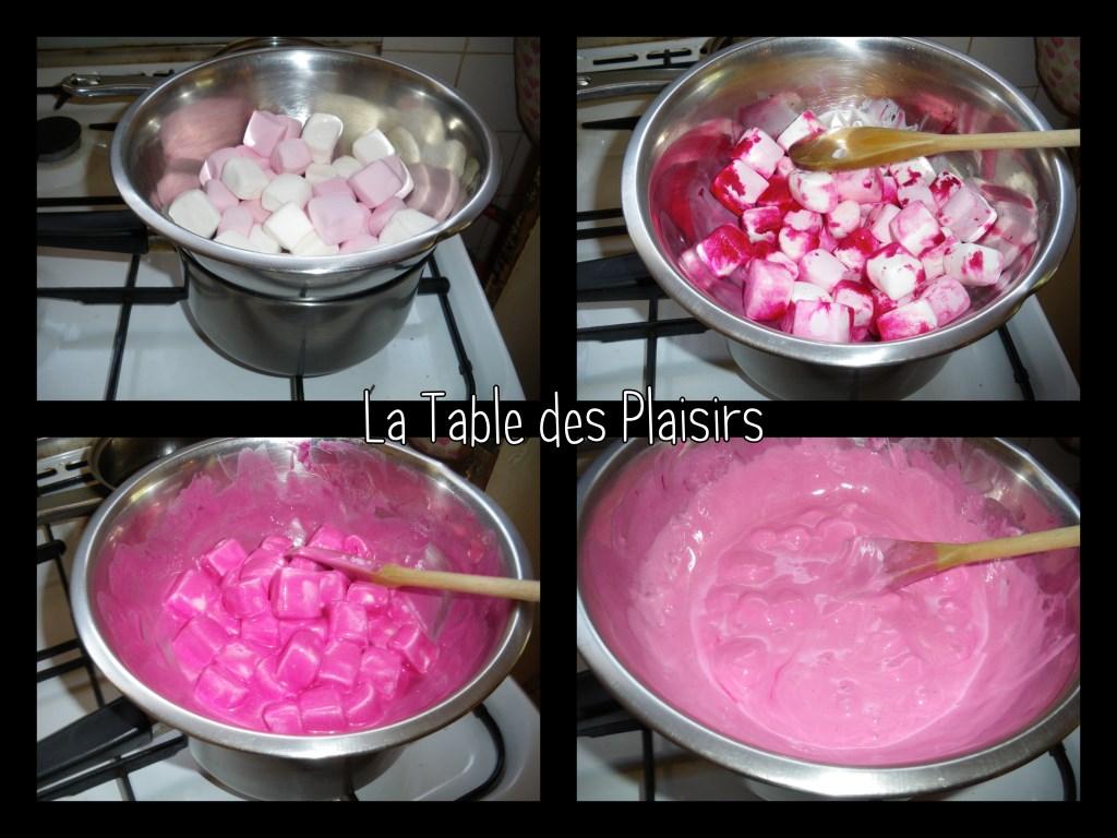 Gla age au marshmallows la table des plaisirs - Glacage pop cake ...