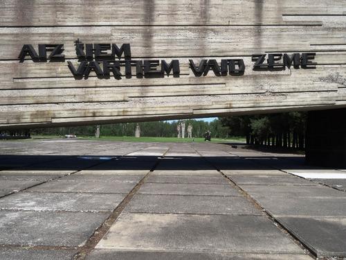 Mémorial de Salaspils en Lettonie (photos)