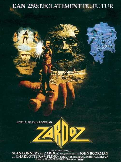 ZARDOZ - BOX OFFICE SEAN CONNERY 1974