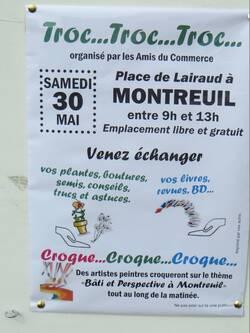 Peinture en plein air à Montreuil - samedi 30 mai