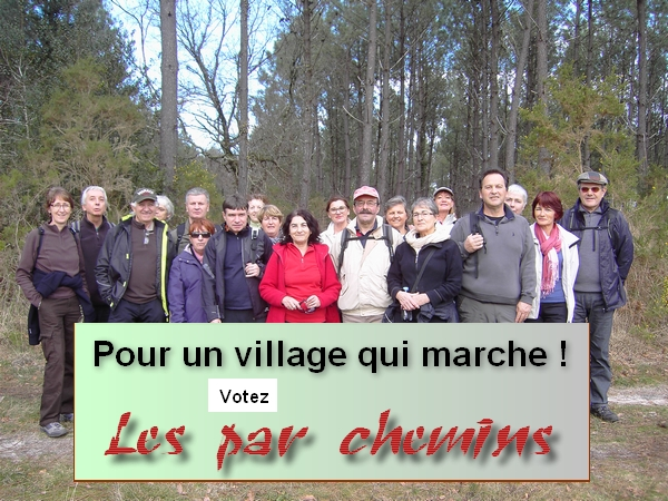 les par chemins photo groupe