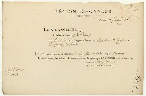 * Lieutenant-colonel SOURDIAUX