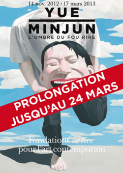 Yue Minjun, L'Ombre du Fou Rire - Prolongation jusqu'au 24 mars 2013