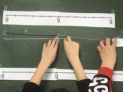 Usine de cordons (fractions et graduations)