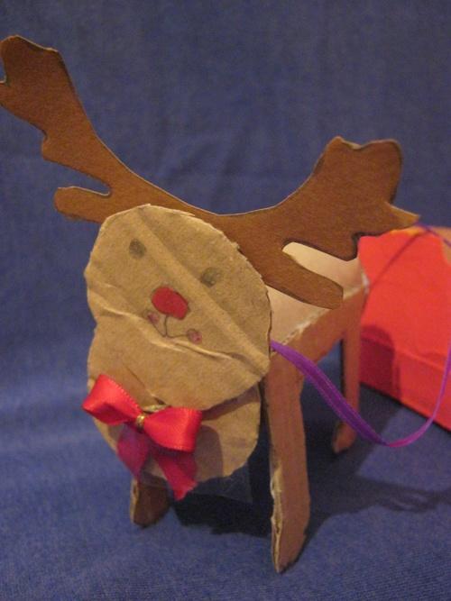 Le traîneau du Père Noël....