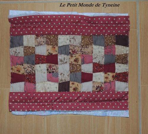 Pochette en patchwork