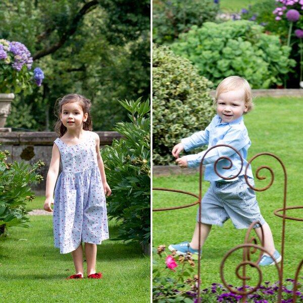 Les petits-enfants du couple Grand-Ducal du Lux