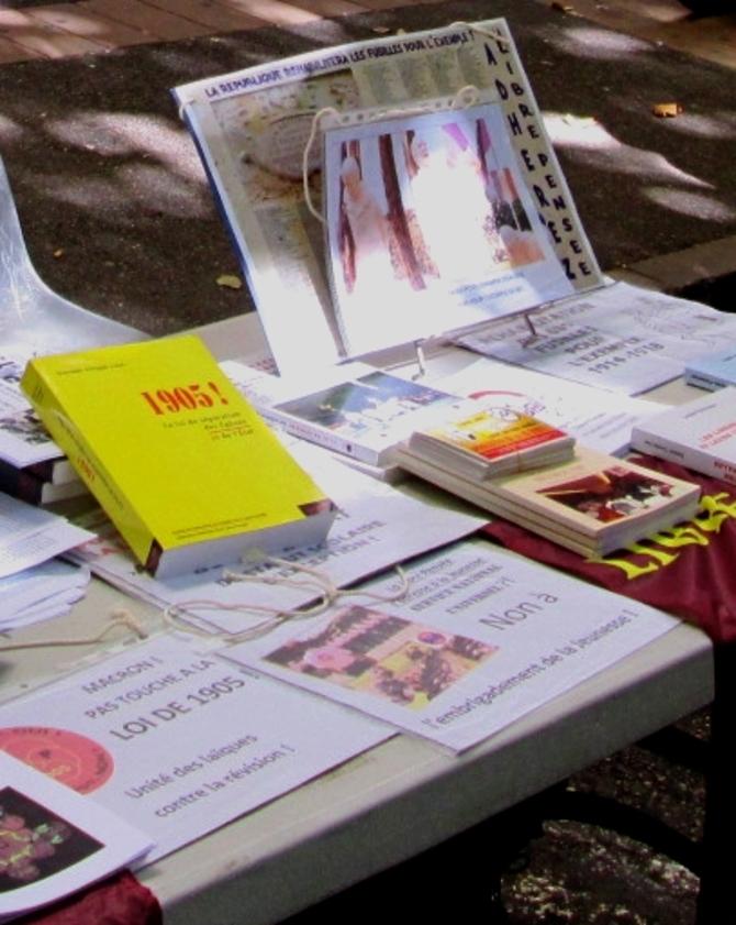 La LP04 tenait un stand au Forum des associations de Digne