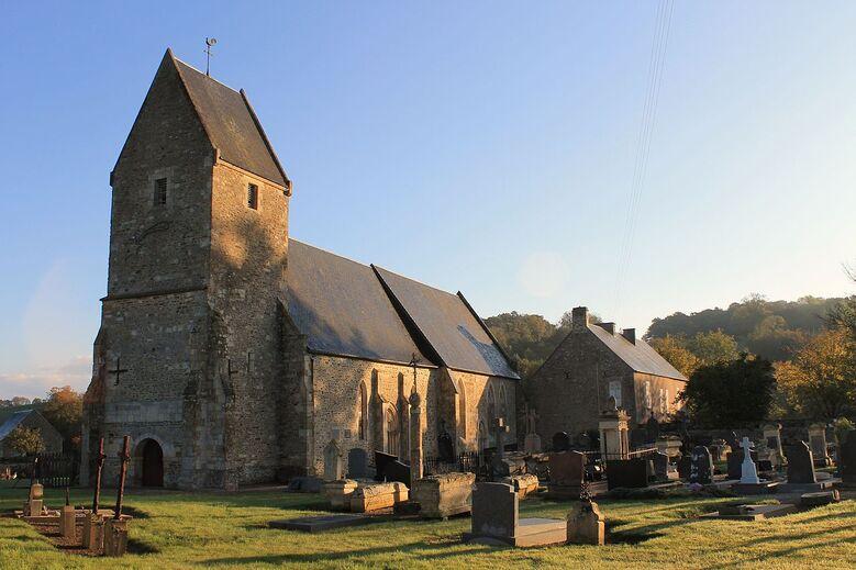 Préaux Bocage église St Sever.JPG