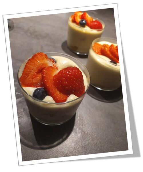 Tiramisu aux fruits