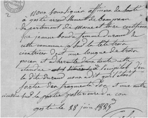 Jeanne Bondu, rescapée du massacre de Gesté....