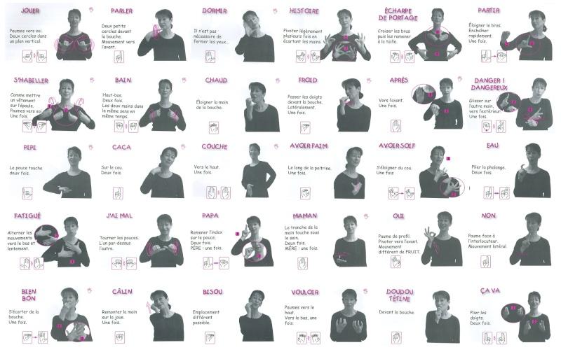 Assez le langage signé pour bébé (signes lsf) - vae eje WU19