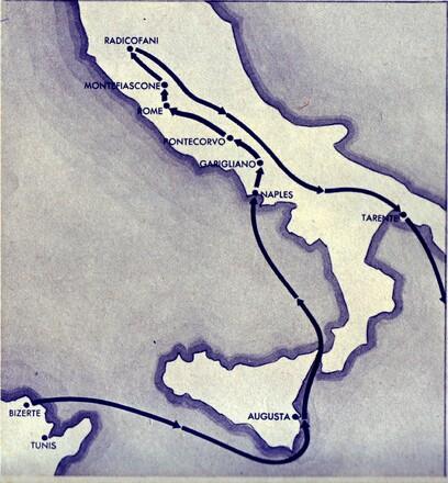 * Survivant de Bir Hakeim par Domingo LOPEZ - 7 - La Campagne d'Italie (1/2)  (Printemps 1944)