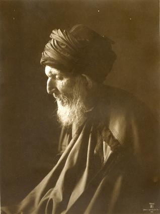 Vieil homme Tunisie. 1910