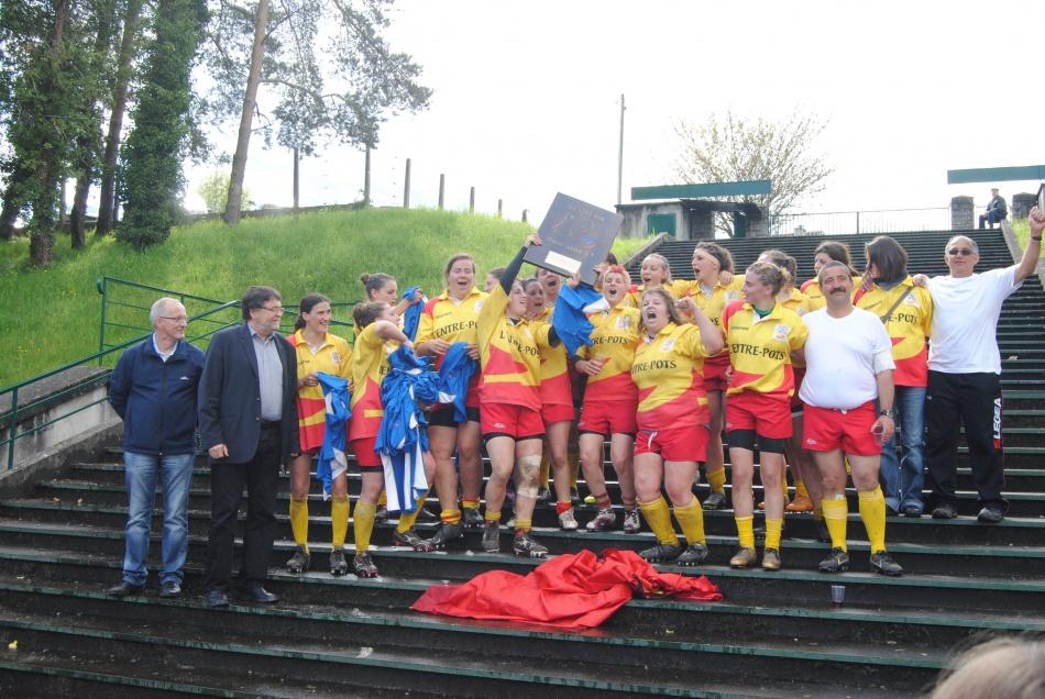 Dimance 6 mai 2012 :Finale challenge sud-ouest 3 eme division féminine
