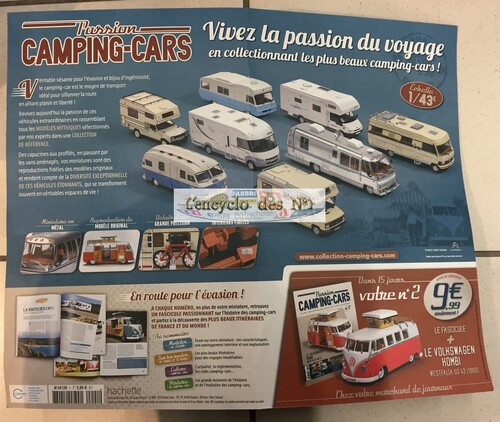N° 1 Passion camping-cars - Lancement