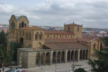 AVILA - Basilica de San Vicente