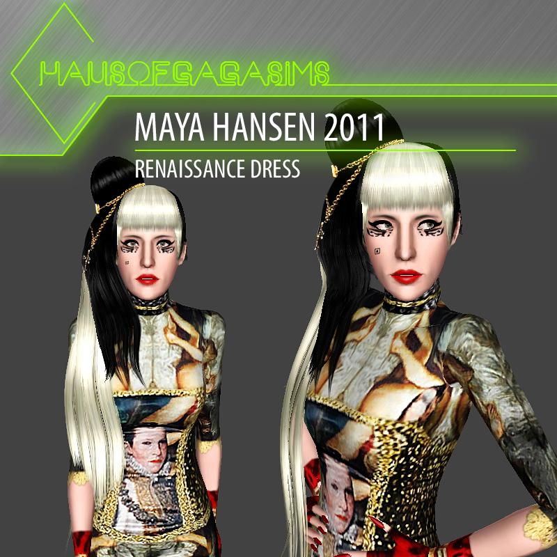 MAYA HANSEN 2011 RENAISSANCE DRESS
