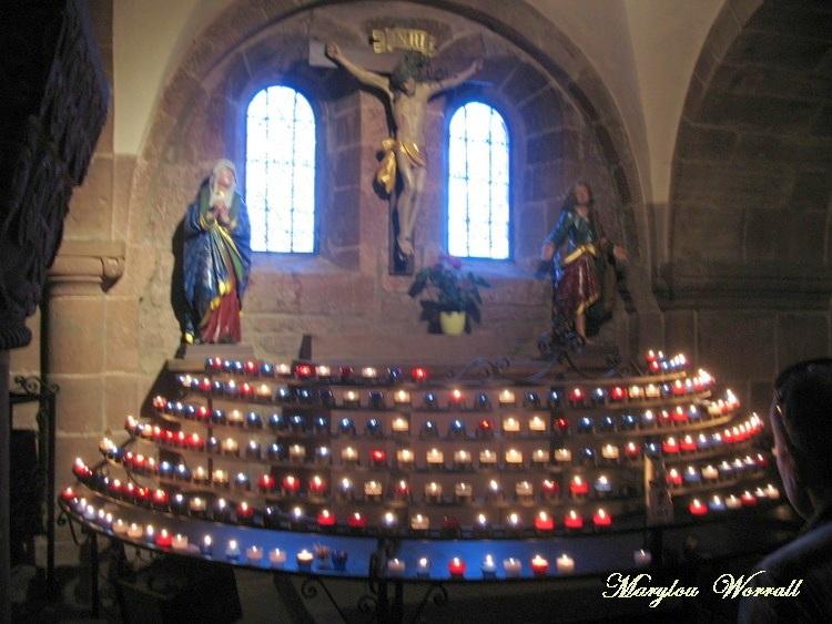 Mont Sainte Odile : Sainte Odile Patronne de l'Alsace