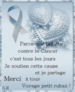 Lute pour le  Cancer