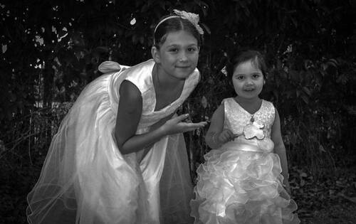 Baptéme de mes deux arriéres petites filles