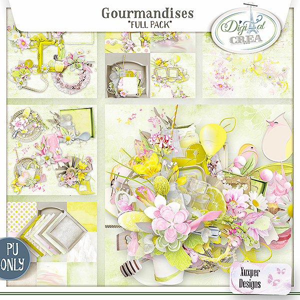 Gourmandises Full pack de Xuxper Designs