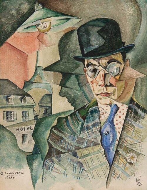 Youri (Georges) Annenkov : art moderne russe