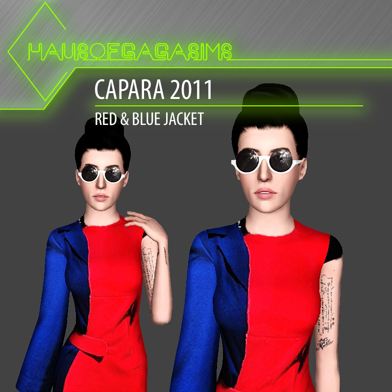 CAPARA 2011 RED & BLUE JACKET