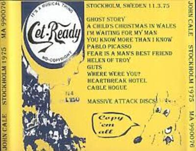 Cale semaine! Jour 1 : Stockholm - 3 Novembre 1975 + Peel Session - 1er Mai 1975