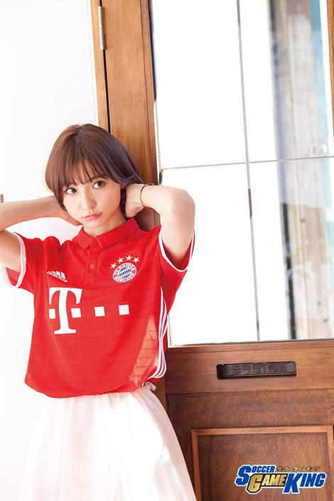WEB Magazine : ( [SOCCER GAME KING ( COVER GIRL MODEL )] - 2017 / Vol.62 : Mariko Shinoda )
