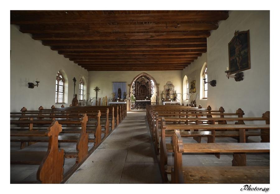 Dambach-la-Ville - Bas-Rhin - Alsace - 06 Septembre 2014 - La chapelle Saint Sébastien