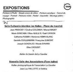 Retour sur une exposition à Colombier le Vieux