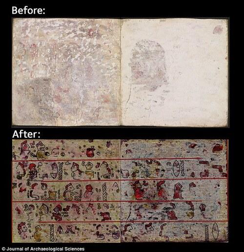 Le codex Selden révèle des images invisibles...