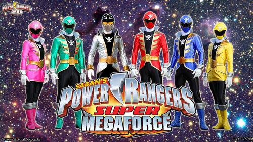 power ranger super mega force