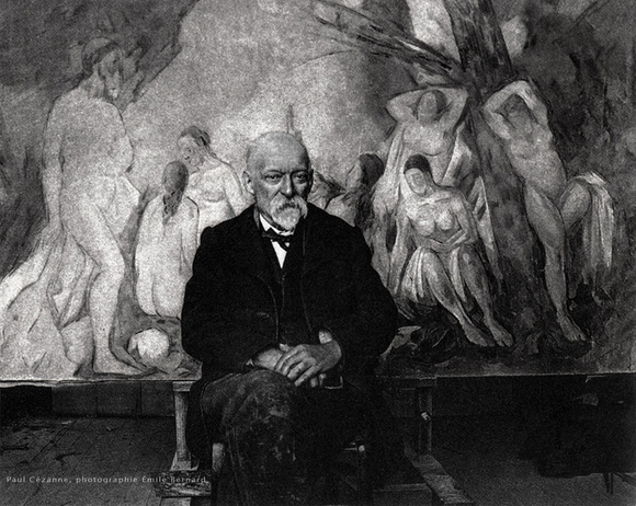 Paul Cezanne, Portrait photo par Emile Bernard