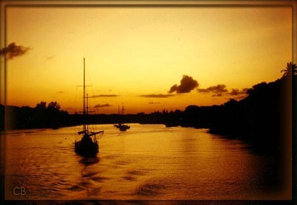 Kenya coucher de soleil