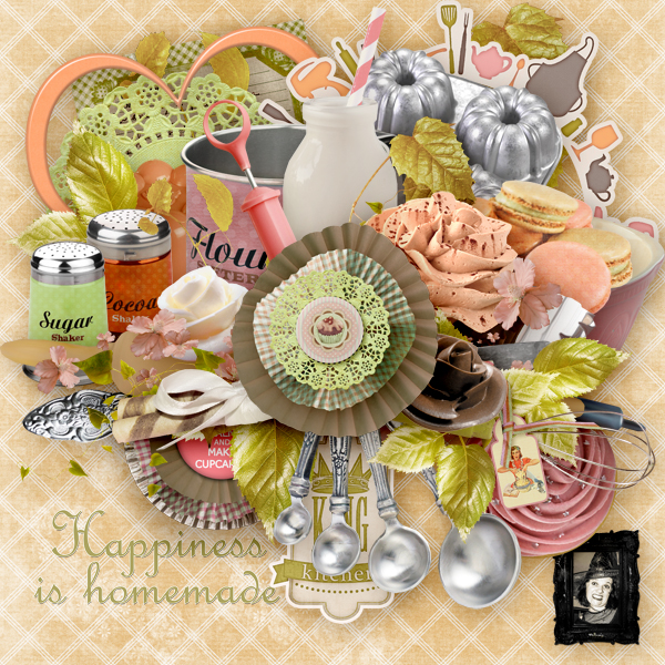 """Happiness Is Homemade""  by Valkyrie Designs"