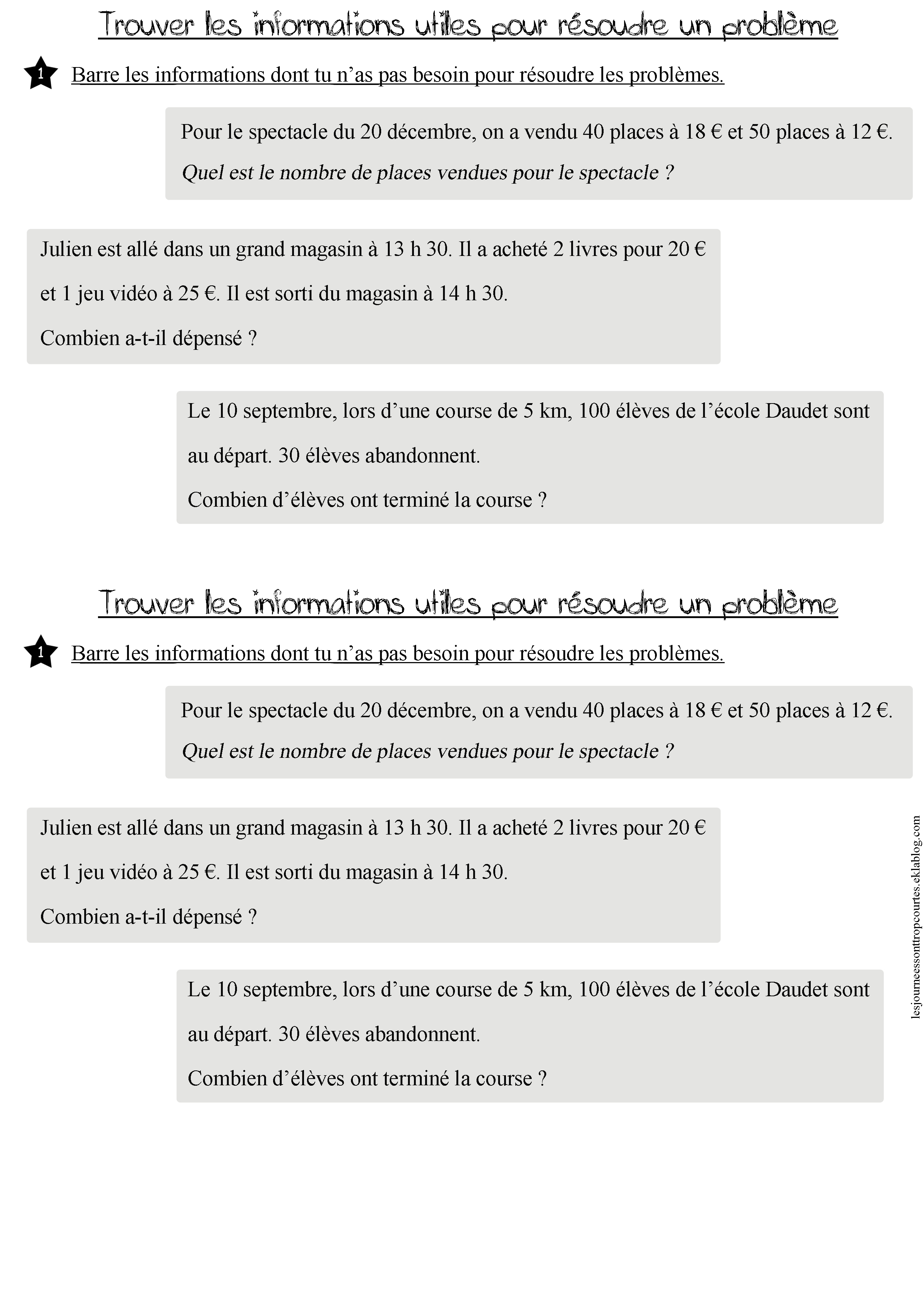 photo comment comprendre un enonce de maths