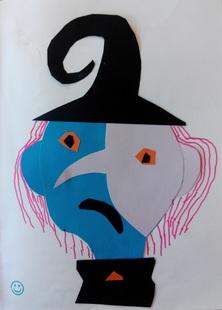 Illustration Halloween / sorcières