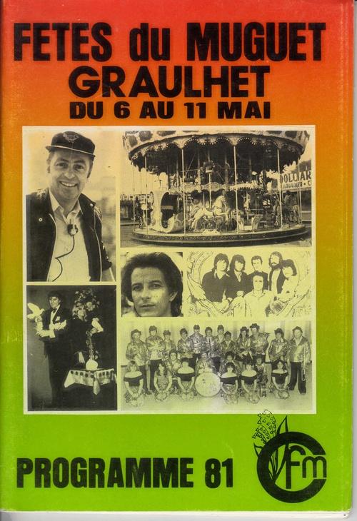 Les Fêtes du Muguet : les années 80 : les programmes et les festivités