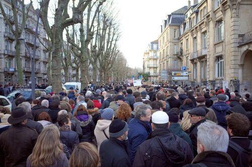 45 000 personnes entre Mazelle et République